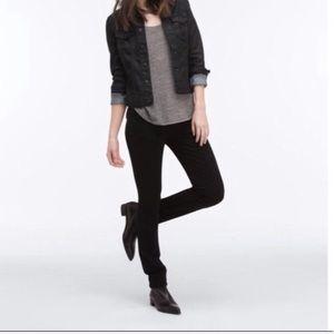 AG | The Prima Super Skinny Black Cigarette Jean